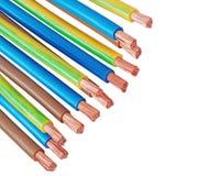 Elektrische Seilzüge Stockfotos