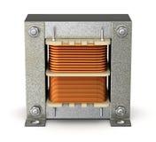 Elektrische shell transformator Royalty-vrije Stock Foto