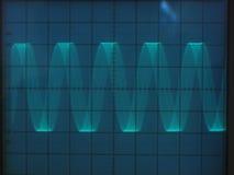 Elektrische Signale Stockfotografie