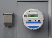 Elektrische slimme meter royalty-vrije stock afbeeldingen