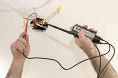 Elektrische Spannung 120V lizenzfreie stockfotos