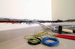 Elektrische Spur Stockfotografie