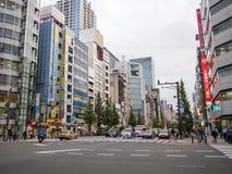 Elektrische Stadt Akihabara, Tokyo Lizenzfreie Stockbilder