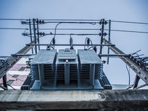 Elektrische Station Stockbild