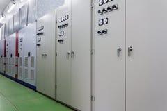 Elektrische Stromstärkenleitstelle stockbild