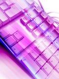 Elektrische Tastatur Stockfotos