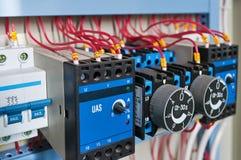 Elektrische Teile lizenzfreie stockbilder
