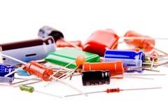 Elektrische Teile Stockfotos