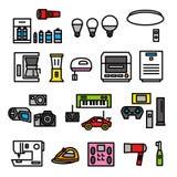 Elektrische toestellen 02 vector illustratie