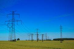 Elektrische toren stock fotografie
