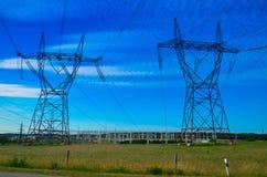 Elektrische toren stock afbeelding