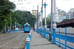Elektrische tram Stock Afbeeldingen