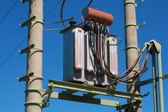 Elektrische transformator stock afbeeldingen