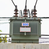 Elektrische transformator royalty-vrije stock afbeeldingen