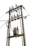 Elektrische transformator Royalty-vrije Stock Fotografie