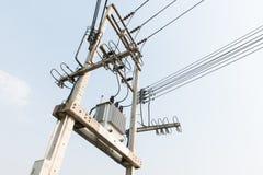 Elektrische Transformator Royalty-vrije Stock Afbeelding