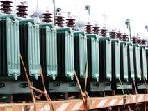Elektrische Transformatoren Lizenzfreies Stockbild