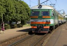 Elektrische trein Stock Fotografie