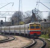 Elektrische trein Royalty-vrije Stock Foto's
