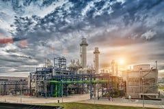Elektrische turbogenerator royalty-vrije stock foto