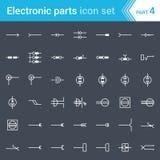 Symbole Des Transistors NPN PNP Vektor Abbildung - Illustration von ...
