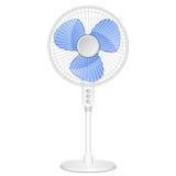 Elektrische ventilator vector illustratie