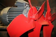 Elektrische ventilators Stock Afbeelding