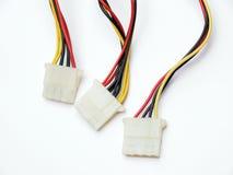 Elektrische Verbinder stockfoto
