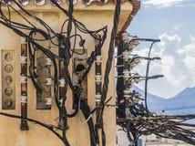 Elektrische Verbindung Stockbilder