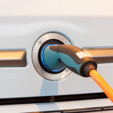Elektrische Verbindung für Auto Lizenzfreie Stockfotografie