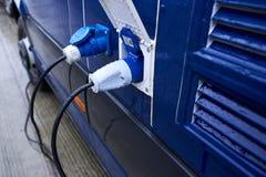 Elektrische Verbindungsstücke, zum des Fahrzeugs anzutreiben Lizenzfreie Stockfotos