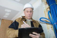 Elektrische Verdrahtung der Kosten Lizenzfreie Stockbilder