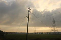Elektrische Versorgung Lizenzfreies Stockfoto