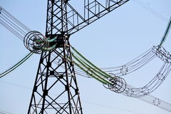 Elektrische volle Neigungen stockbilder