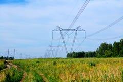 Elektrische volle Neigungen stockbild