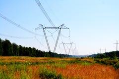 Elektrische volle Neigungen stockfoto