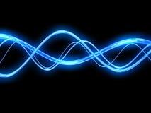 Elektrische Wellen lizenzfreie abbildung