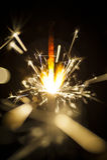 Elektrische Wunderkerzen Lizenzfreie Stockfotos