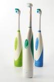 Elektrische Zahnbürste Stockfotos