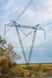 Elektrische Zeile Stockbild