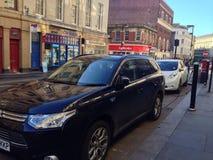Elektrischer ändernder Punkt für Autos Lizenzfreie Stockfotos