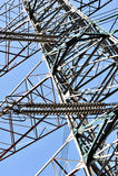 Elektrischer Übergangskontrollturm Stockbilder