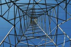 Elektrischer Übertragungs-Kontrollturm stockbild