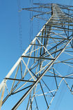 Elektrischer Übertragungs-Kontrollturm lizenzfreies stockfoto