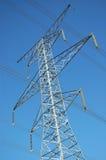 Elektrischer Übertragungs-Kontrollturm lizenzfreies stockbild