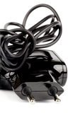 Elektrischer Adapter Stockfoto