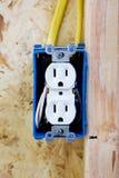 Elektrischer Anschluss Stockfotos