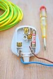 Elektrischer Bolzen Stockfoto