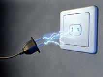 Elektrischer Bolzen Lizenzfreie Stockfotografie