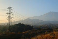 Elektrischer Draht Lizenzfreies Stockfoto